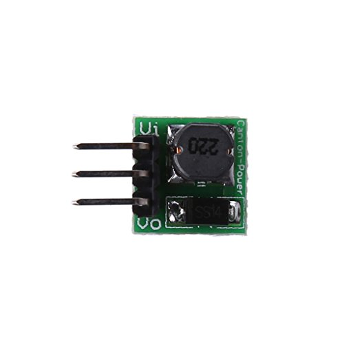 BUIDI Mini DC-DC 0.9-5V to DC 5V Step-up Boost Voltage Converter Module For Arduino Electronic component