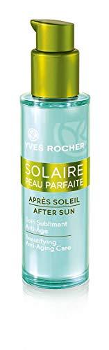 Yves Rocher SOLAIRE PEAU PARFAITE Après-Soleil Anti-Age Pflege, erfrischende Apres Lotion für das Gesicht, 1 x Pump-Flacon 30 ml