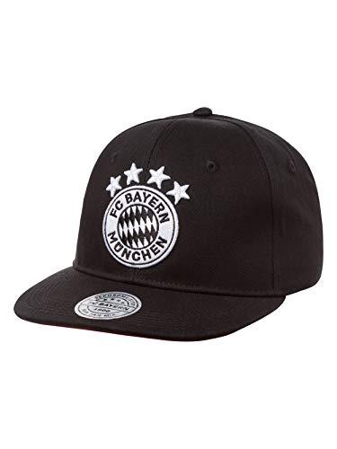 FC Bayern München Snapback Cap Emblem schwarz/weiß