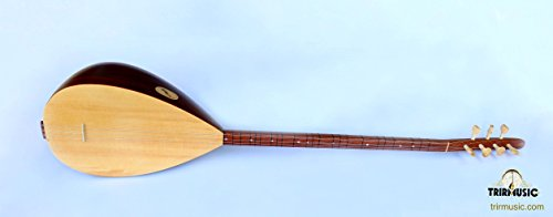 Quality Turkish Long Neck Baglama Saz String Musical Instrument ASL-202