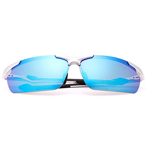 YIMI Polarized Sports Sunglasses For Men Cycling Driving Fishing 100% UV Protection