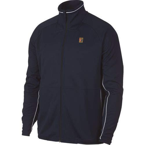 Nike M Nkct Jkt Essntl Court, Giacca Uomo, Ossidiana/Bianco, M