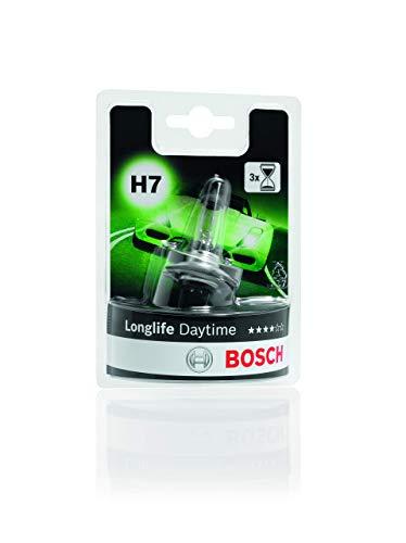 Lámpara Bosch para faros: Longlife Daytime H7 12V 55W PX26d (Lámpara x1)