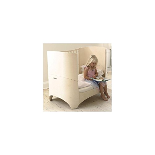 Leander Babybett mit Juniorkit White Wash