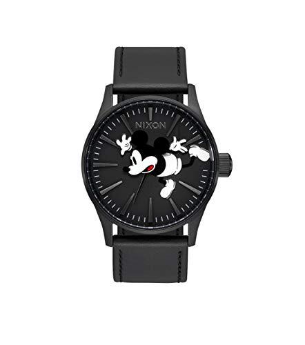 Nixon Damen Analog Quarz Uhr mit Leder Armband A105-3093-00
