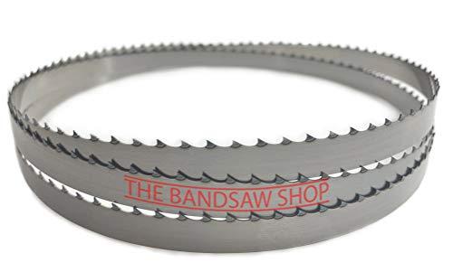 Hojas de sierra de cinta para cortar madera de 6 mm de ancho (1400 mm x 1/4 (32 Tpi))