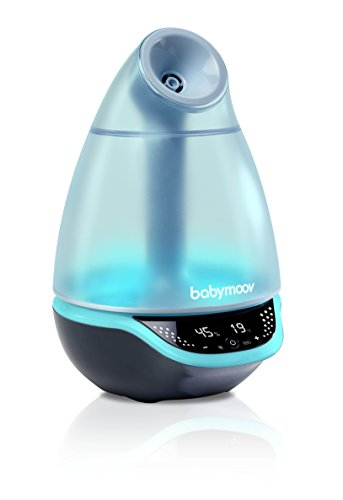 Hygro Plus Cool Mist Humidifier | 3-in-1 Humidity Control, Multicolored Night Light & Essential Oil Diffuser | Easy Use and Care (NO Filter Needed)