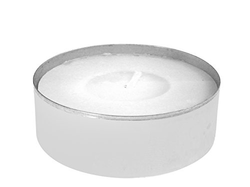 Price's Candles Tealight Pack 12 Maxilights, Cera, Blanco, 18x12x4 cm, Unidades
