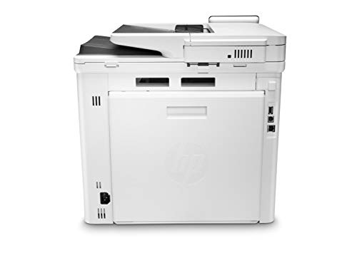HP Color LaserJet Pro M479dw Impresora Láser Multifunción a Color (A4, hasta 27 ppm, de 750 a 4000 Páginas al Mes, 1 USB 2.0 , 1 USB Host, 1 Red Gigabit Ethernet 10/100/1000T, Wi-Fi, Doble cara)