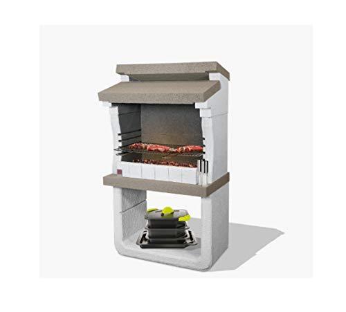 Sarom Barbecue in MURATURA San SIRO Dim. CM. 80 x 51,5 x 147