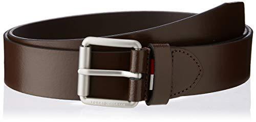 Tommy Hilfiger Downtown Seasonal Belt 3.5 Cintura, (Brown 0im), 5 (Taglia Produttore: 85.0) Uomo