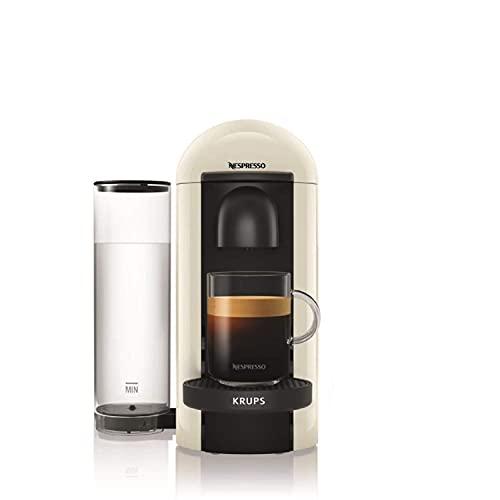 Nespresso, Pod Coffee Machine, Krups, XN903140, White