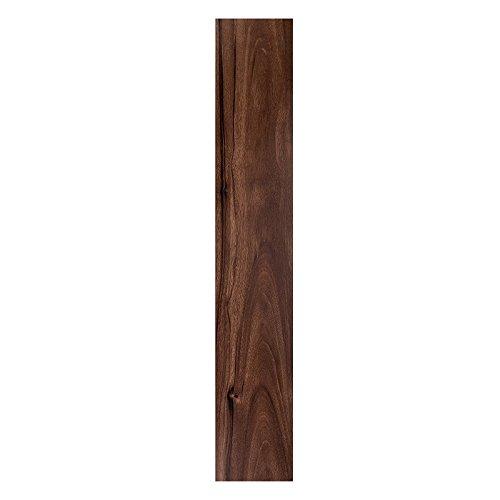 Floor Planks Do it Yourself Peel N' Stick Vinyl Wood Look Planks (6' x 36' - 3 Pack, Hickory)
