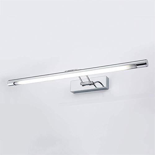 Meixian Verstelbare spiegellamp, waterdicht, mooie decoratieve spiegellamp, toilettafel, wandlamp en 10 W, eenvoudig retro