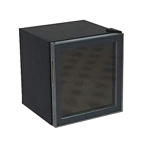 "Avanti ARBC17T2PG 1.6 cubic foot Beverage Cooler Refrigerator, 20"" x 18.3"" x 17.3"", Black"