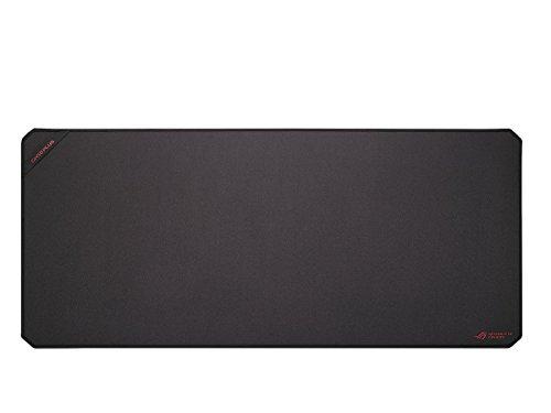 ASUS GM50 Plus Negro - Alfombrilla de ratón (Negro, Monótono, Tela, Caucho, Silicona, Base antiderrapante, Alfombrilla de ratón para Juegos)