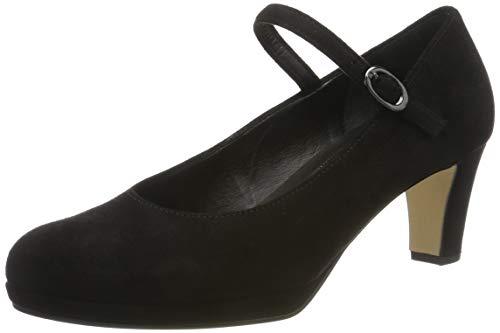 Gabor Damen Fashion Pumps, Schwarz (Schwarz 47), 40 EU