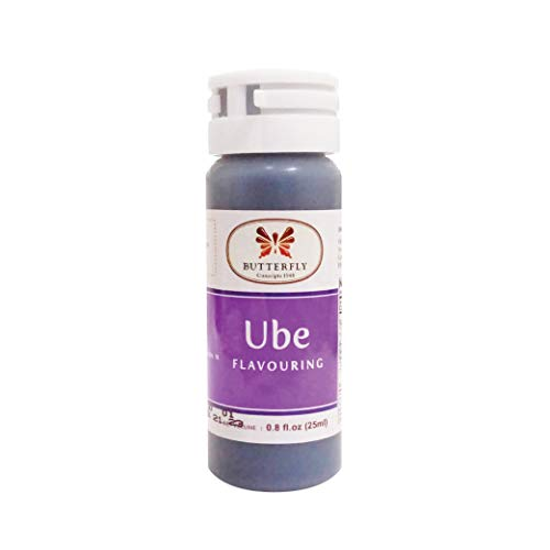 Butterfly Ube (Purple Yam) Flavoring Extract Paste, 25 ml (Pack of 144)