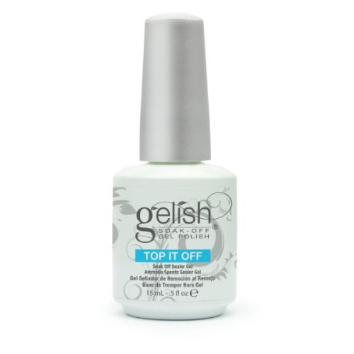 Harmony Gelish Esmalte de gel de uñas (Soak off Sealer Top it off) - 15 ml.