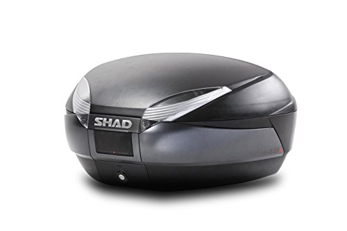SHAD D0B48100 Top Case SH48 Dark Grey, Schwarz