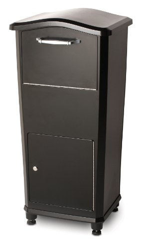 Architectural Mailboxes 6900B Elephantrunk Parcel Drop Box Black