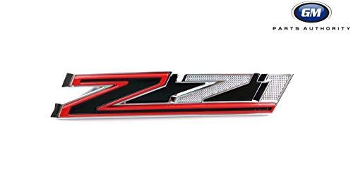 2019 Chevrolet Silverado Next Gen Z71 Grille Emblem 84384428 Red Black Chrome OE