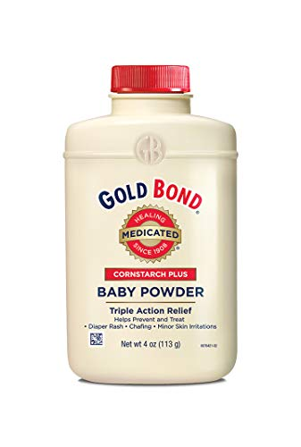 Gold Bond Cornstarch Plus Baby Powder, 4 Ounces