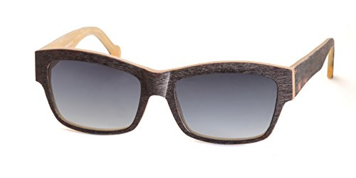 MUNICH ART FRAMES Norton Black Brown Sun - Gafas de sol unisex