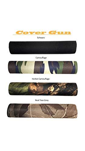 Cover Gun Schalldämpfer Schutzhülle/Überzug Silencer Sleeve (Camouflage, 170mm, 30-35mm Ø)