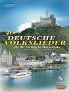 30 DEUTSCHE VOLKSLIEDER - arrangiert für Steirische Handharmonika - Diat. Handharmonika - mit CD [Noten / Sheetmusic] Komponist: MICHLBAUER FLORIAN