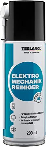 Teslanol 26017 Elektro-Mechanik-Reiniger zur präzisen Reinigung von elektrischen Kontakten - 200 ml