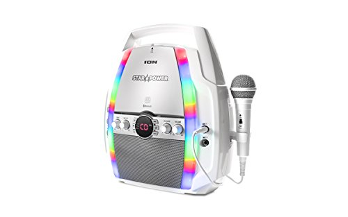 ION Audio-Star Power-Portable CD Karaoke System