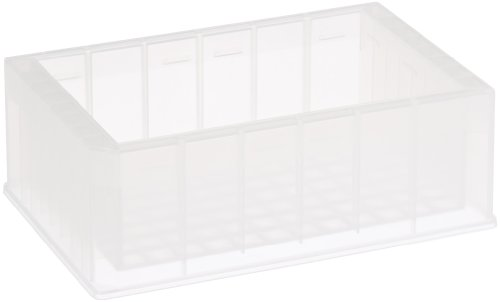 Axygen RES-SW96-HP Polypropylene Single Well High Profile Reagent Reservoir with 96-Bottom Trough, Non-Sterile, 240mL Capacity (Case of 25)