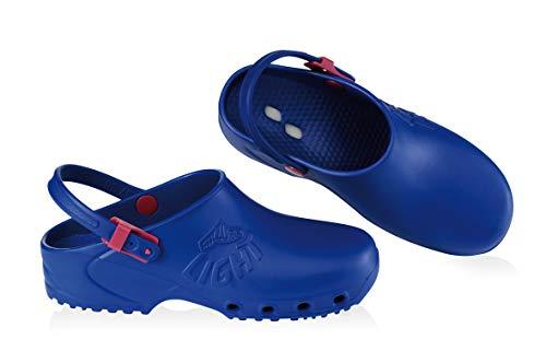 Zoccoli Sanitari Calzuro Light Professionali colore Blu 36 marchio CE
