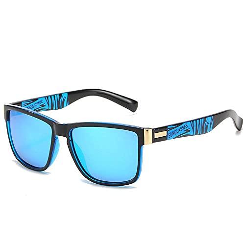 MU-PPX Gafas De Sol para Mujer Gafas De Sol Polarizadas con Montura Cuadrada Gafas De Sol Polarizadas con Protección Uv400 Vintage Shades para Mujer