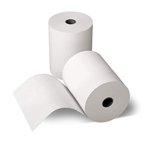 Bonrolle, Thermopapier, Bisphenol-A frei, 80mm / 50m / 12mm, 50 Stk. / Karton von Kassenbon24