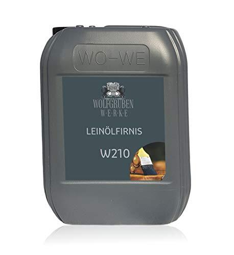 Leinölfirnis 5L Holzöl farblos Leinöl Firnis Holz Öl Holzpflegeöl WO-WE W210