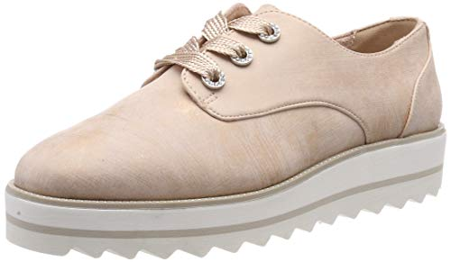 Tamaris Damen 1-1-23700-32 Sneaker, Pink (Rose Met. Stru 537), 39 EU
