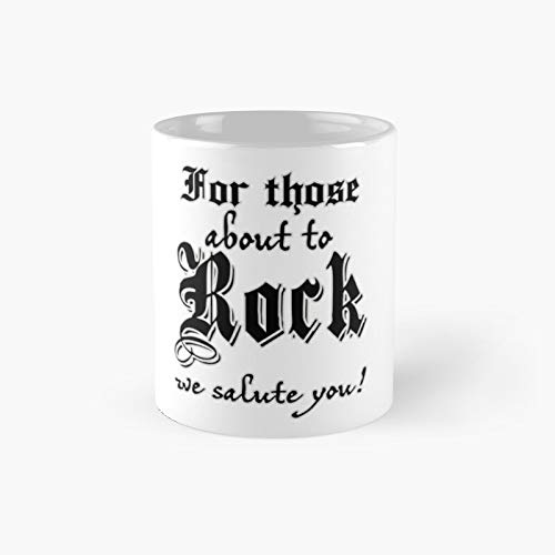For Those About To Rock Classic - Taza (11 onzas)
