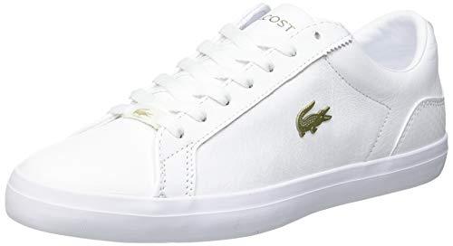Lacoste Herren Lerond 0721 1 CMA Sneaker, Wht/Wht, 43 EU