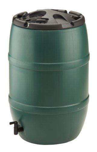 Strata Products Ltd Ward - GN321, Bidone per la Raccolta dell'Acqua piovana, con Rubinetto e Coperchio, 120l