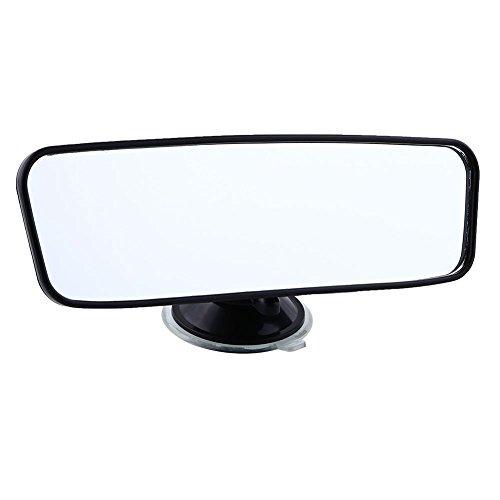Hongfei 200 mm breite, Flache Innen blinder Punkt-Spiegel Rearview Rückspiegel mit Saugen Autopflege-LKW