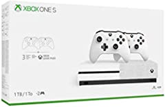 Xbox One S 1TB console I Two Xbox Wireless controller I 1-month trial of Xbox Game Pass I 14-day trial of Xbox Live Gold Xbox Game Pass 1-month trial included: Get 1 months of Xbox Game Pass. Play Sea of Thieves, State of Decay 2, and Crackdown 3 wit...