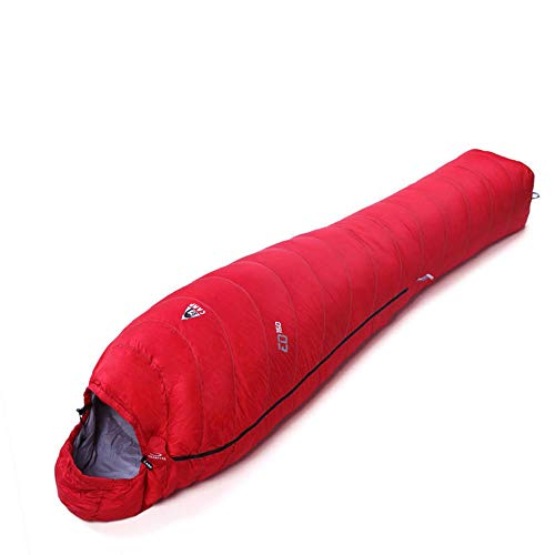 10~13 ° C Saco Dormir Acampar 90% plumón oca Ultra