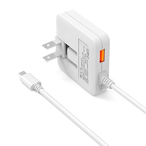 【最新薄型】PD20W 充電器 USB-C 急速充電器 Type-Cケーブル (PD20W&QC3.0/合計3.4A/1つUSB-Aポート/折畳みプラグ/PSE認証済) ACアダプター コンセント 軽量 スマホ充電器 iPhone/iPad/Android/ゲーム機などその他対応