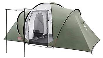 COLEMAN Ridgeline Plus Tente 4 Places Vert/Gris