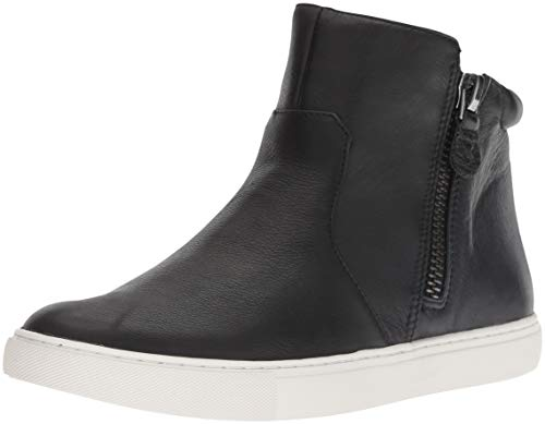 Gentle Souls by Kenneth Cole Womens Carter Mid-Top Sneaker, Black, 8.5 M US