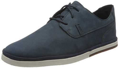 Rockport Austyn Plain Toe Summer Shoe, Alpargatas Hombre, Azul New Dress Blues 004, 44.5 EU