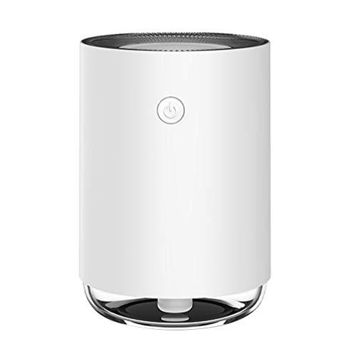 Mobestech Lucht Aromatherapie Luchtbevochtiger Draagbare Mini Mist Luchtbevochtiger Geurverspreider Etherische Olie Diffuser Voor Kantoor Thuis Auto (Wit)