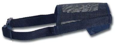 Bozal nylon para perros negro talla S (30-70cm)